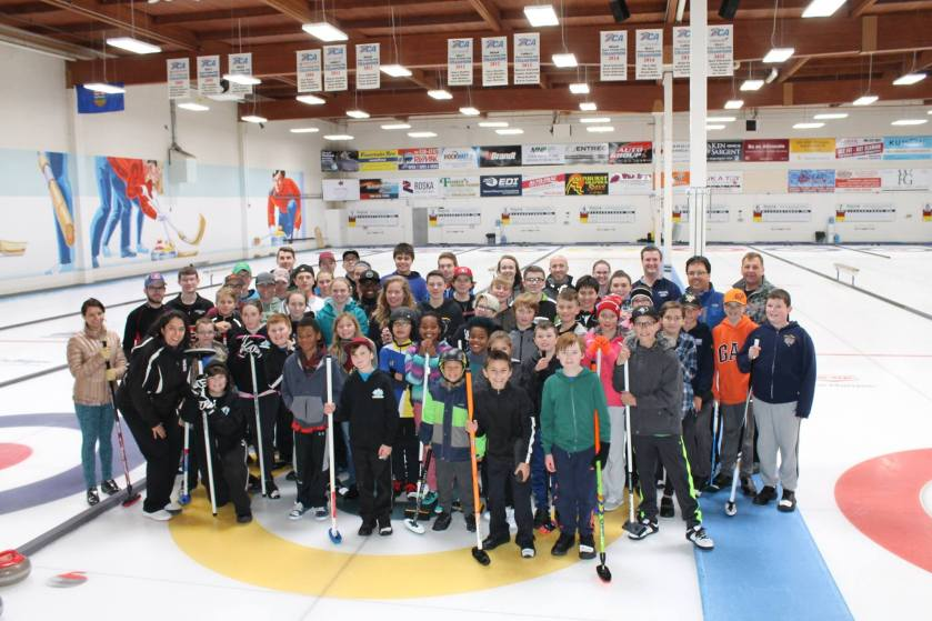 PCA Junior Rock Star Curling Camp 2017