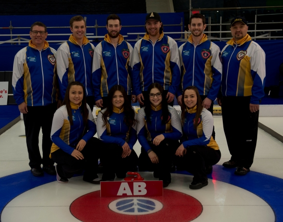 Shawinigan, Quebec 2018 New Holland Canadian Junior Curling Championships Team Alberta curling canada/michael burns photo