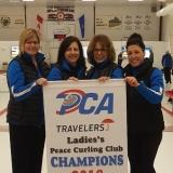 PCA Women's A 2018 club champions